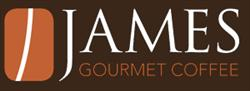 James gourmet Coffee Logo